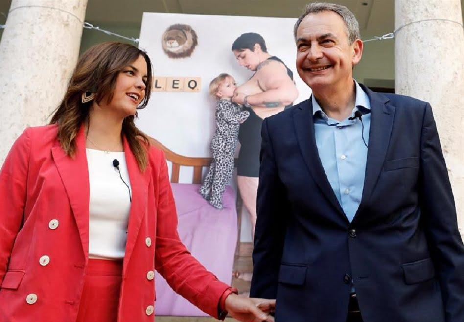 "Zapatero apoya a Sandra Gómez como alcaldesa de una ""València feminista"""