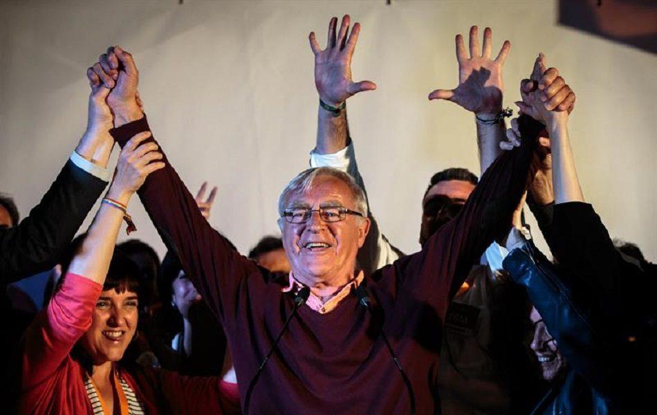 Imagen destacada Ribó mantiene por la mínima la alcaldía de València gracias al PSPV