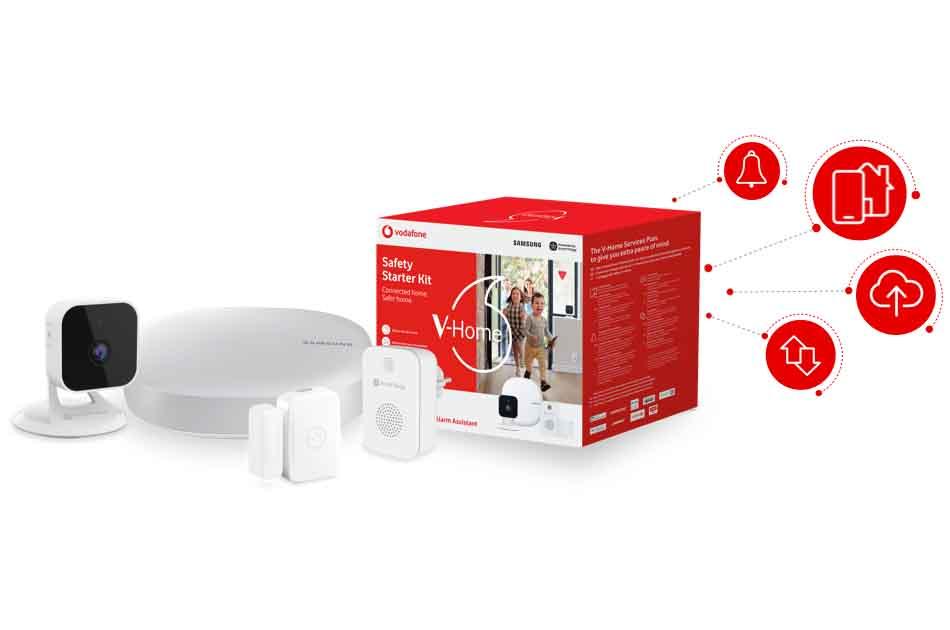 Imagen destacada Vodafone se alía con la aseguradora Caser en servicios de Hogar Digital