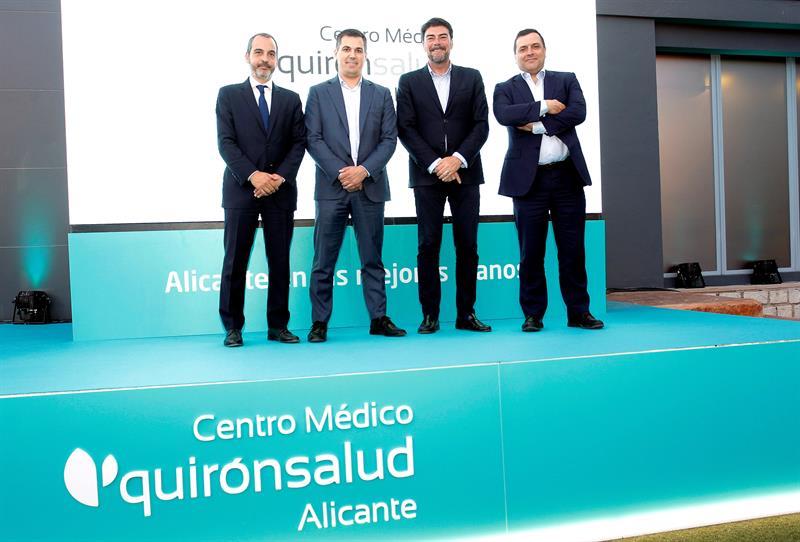 Quirónsalud abre su quinto centro en la provincia de Alicante