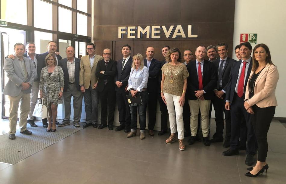 Lafuente renueva como presidente de la Federación Metalúrgica Valenciana