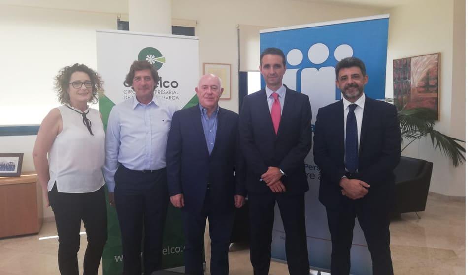 Cajamar y Cedelco acuerdan potenciar el tejido empresarial de Elche y su comarca