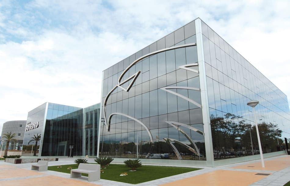 sede del Grupo Soledad en Alicante, también de Neumáticos Soledad