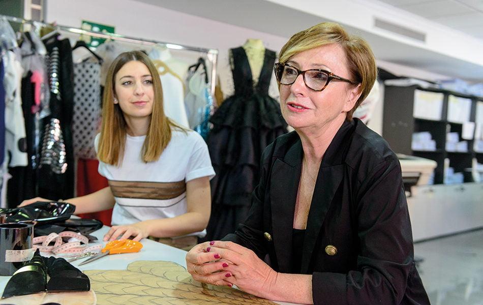 """Isabel Sanchis: """"Nuestra meta es desfilar en la Paris Fashion Week"""""""