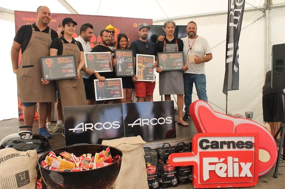 Imagen destacada El cocinero Luis Asensio, ganador del Concurso Steak Tartare del Meat Carnival