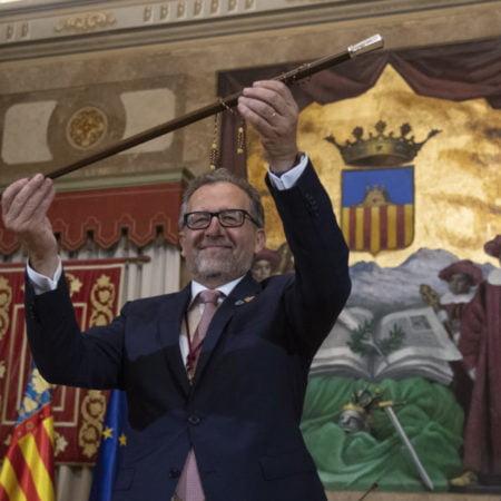 Josep Martí. presidente Diputación de Castellón