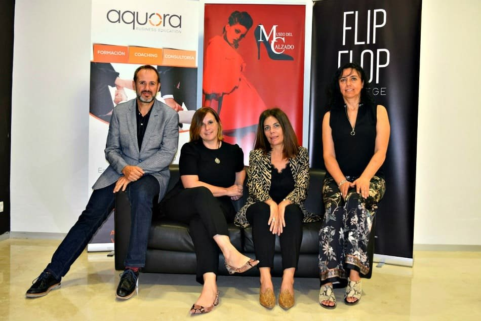 Aquora, Flip Flop y el Museo del Calzado se unen para formar a expertos en el sector
