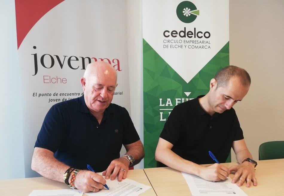 Cedelco y Jovempa Elche firman un convenio de colaboración
