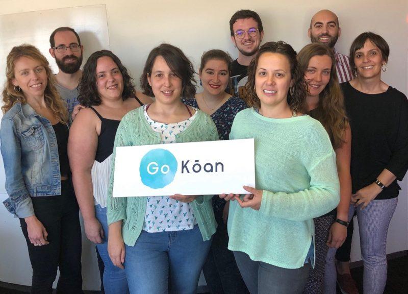 Equipo de la startup valenciana GoKoan.