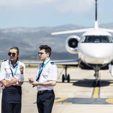Escuela pilotos, Skyborne