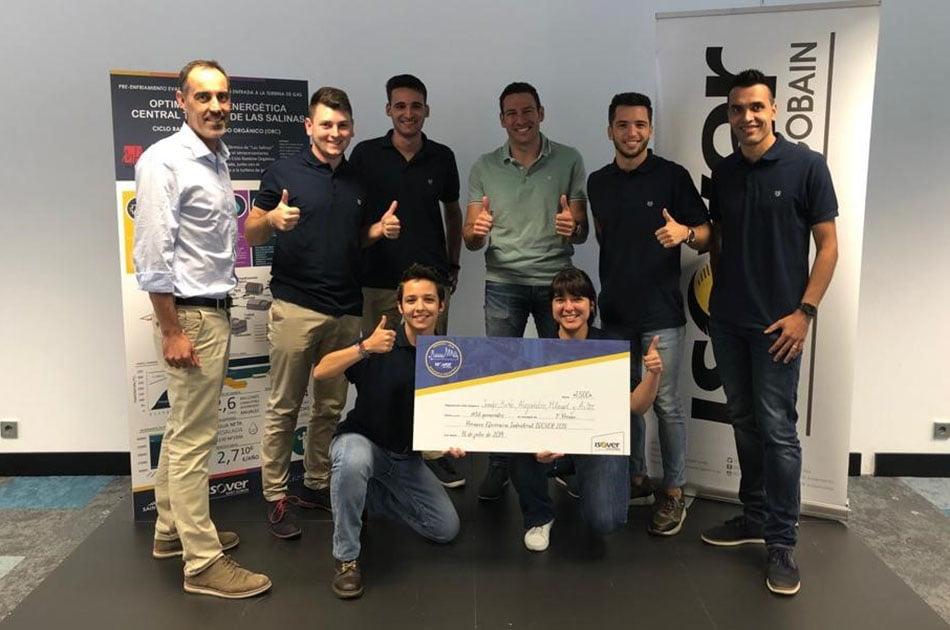 Estudiantes de la UMH logran el primer puesto en los premios de Eficiencia Industrial