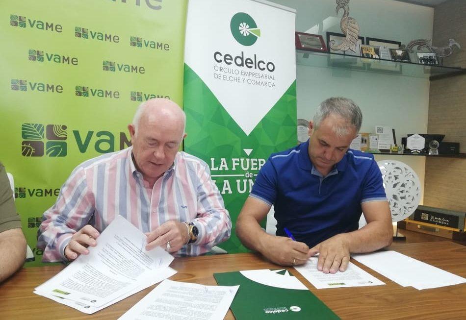 Cedelco y VAME firman un acuerdo de colaboración