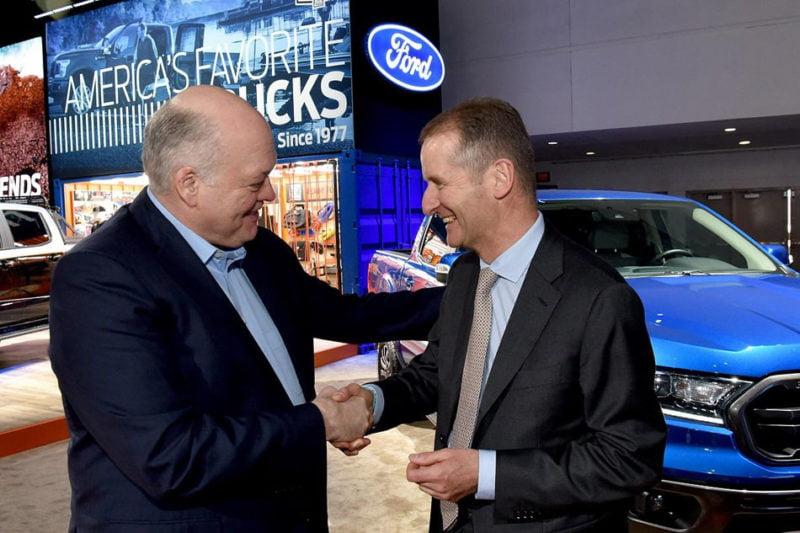 Ford y Volkswagen se unen para desarrollar vehículos eléctricos y autónomos