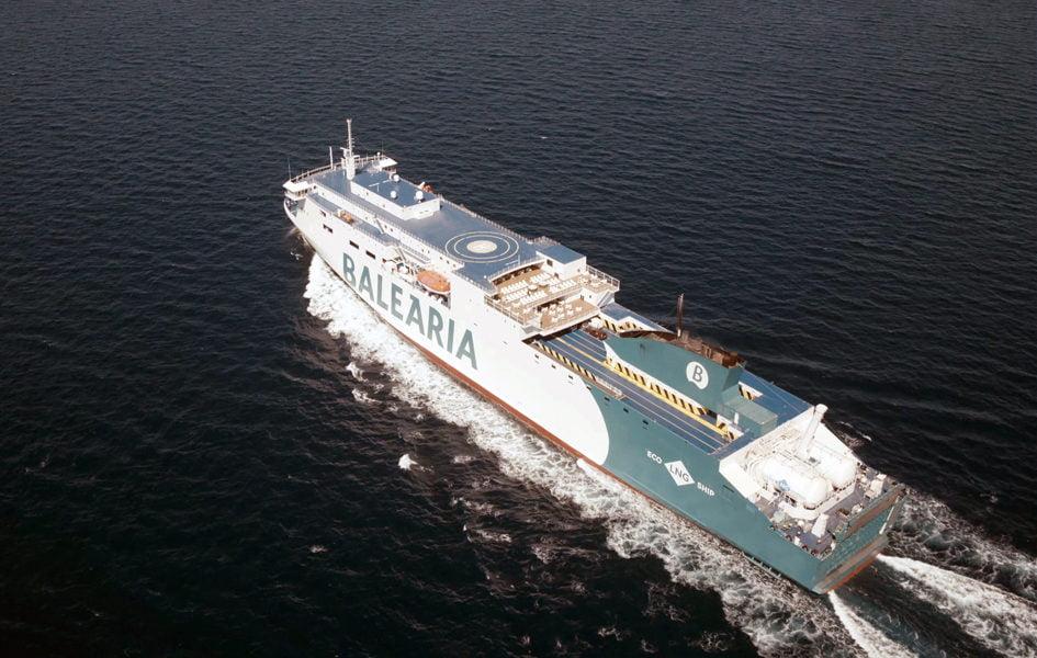 Imagen destacada Baleària prueba un abastecimiento de combustible de GNL de alta velocidad