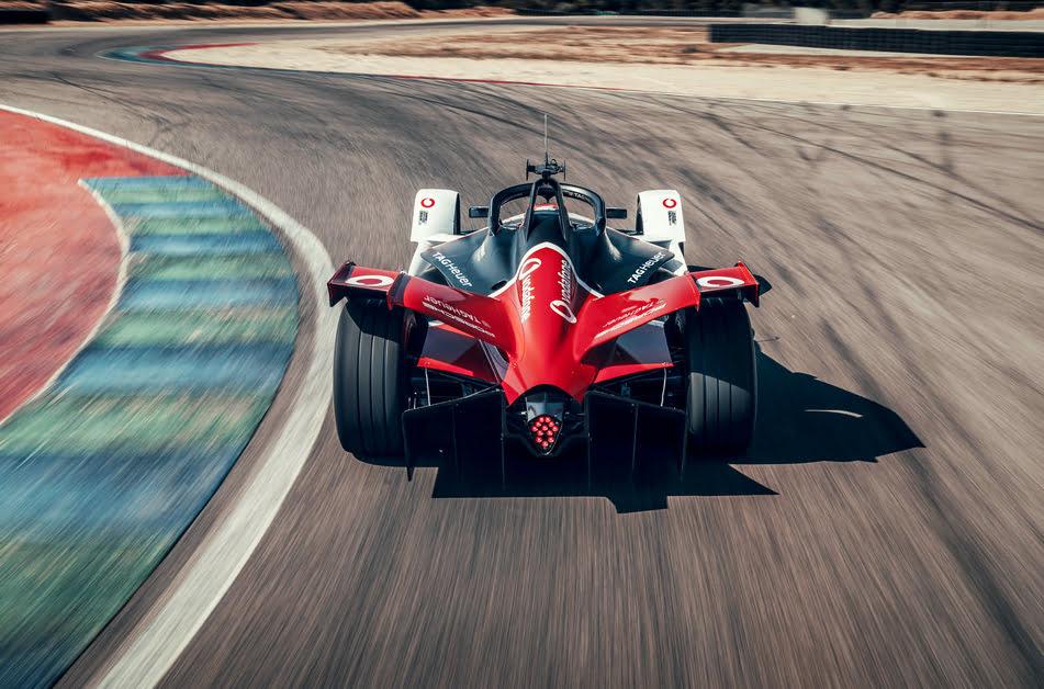 Imagen destacada Vodafone, socio tecnológico del Porsche eléctrico en Fórmula E