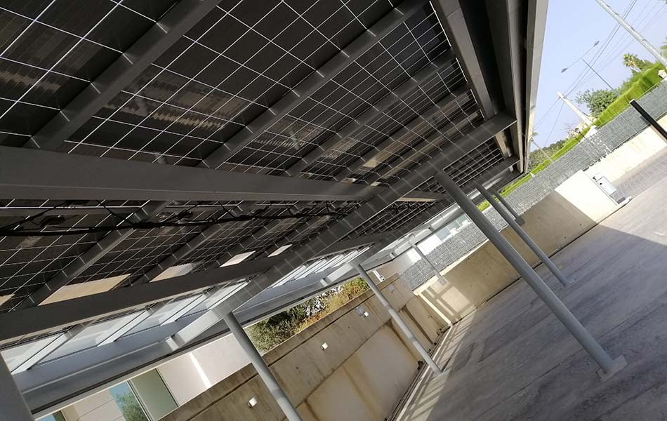 Imagen destacada Cubierta Solar instala 'pérgolas fotovoltaicas' para generar electricidad un 62% más barata