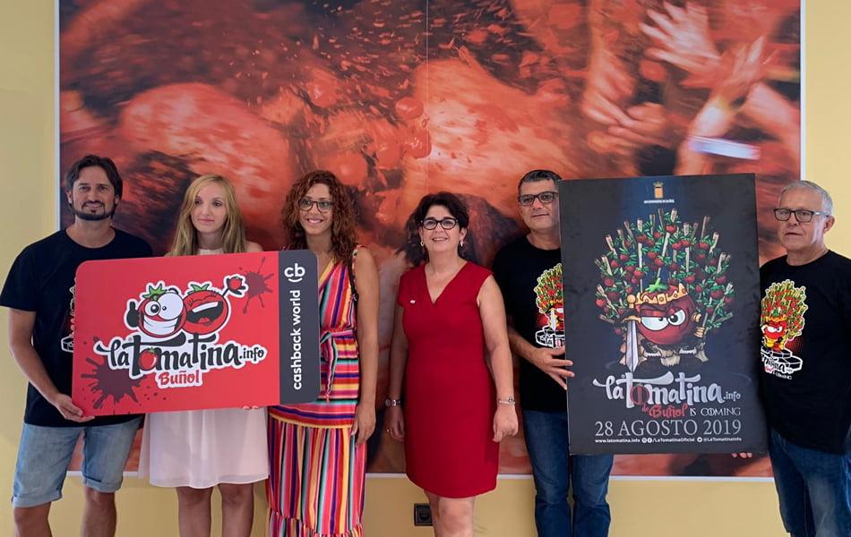 Imagen destacada Unos 145.000 kilos de tomate teñirán de rojo el centro de Buñol en La Tomatina 2019