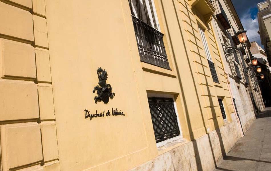 Diputación Valencia fachada