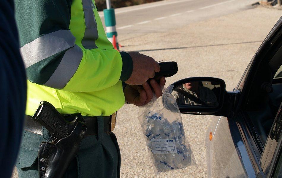Denunciados en julio 270 conductores por delitos contra la seguridad vial
