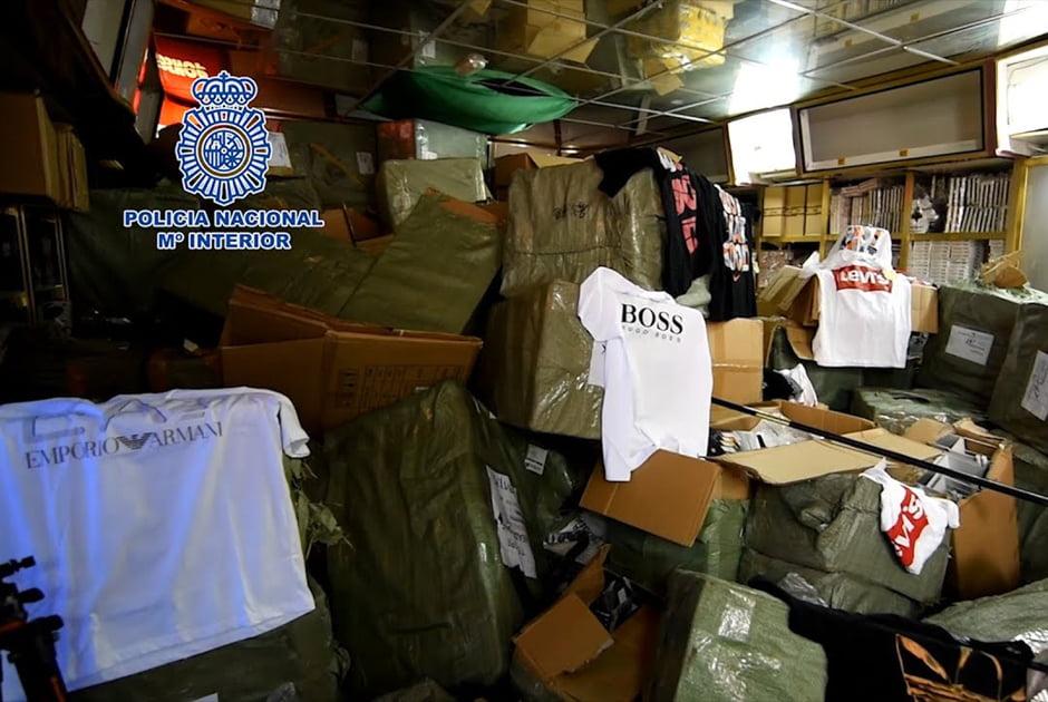 Imagen destacada Las incautaciones de productos falsificados se concentran en la Comunitat Valenciana