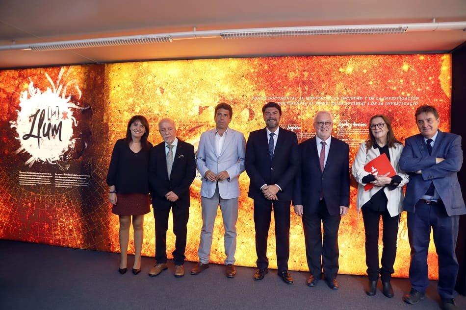 Imagen destacada Fundación CAM abre su fondo documental y legados con la inauguración de 'La Llum'