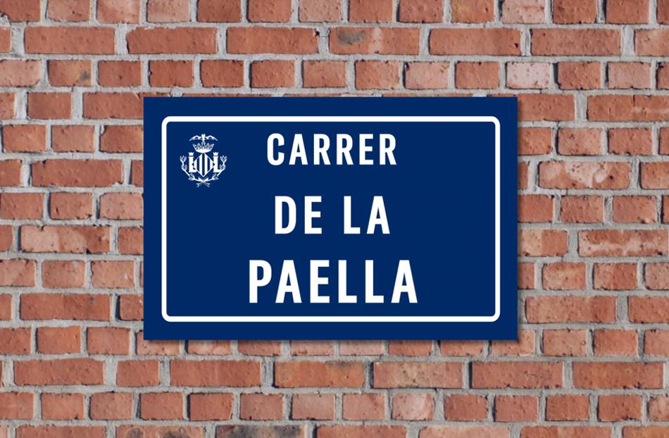 Iniciativa popular para que la paella tenga calle en València