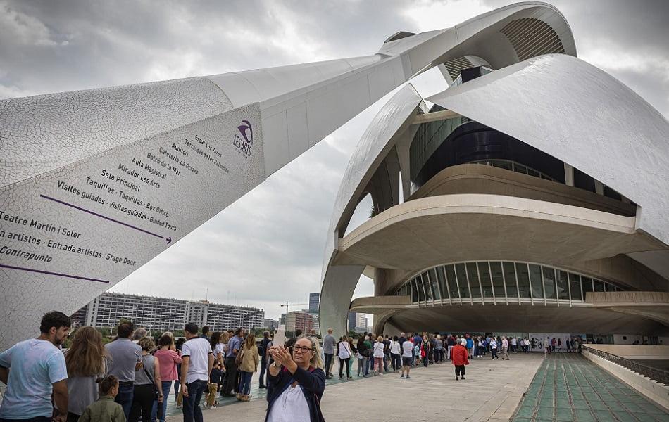 Les Arts recibe a más de 8.000 visitantes en su XII Jornada de Puertas Abiertas