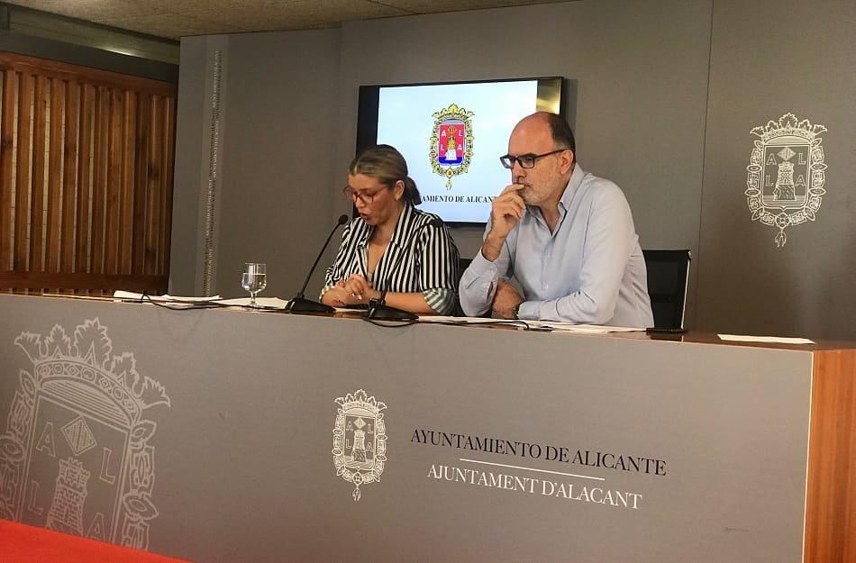 El Ayuntamiento de Alicante aprueba 2,5 millones para mejorar las áreas industriales