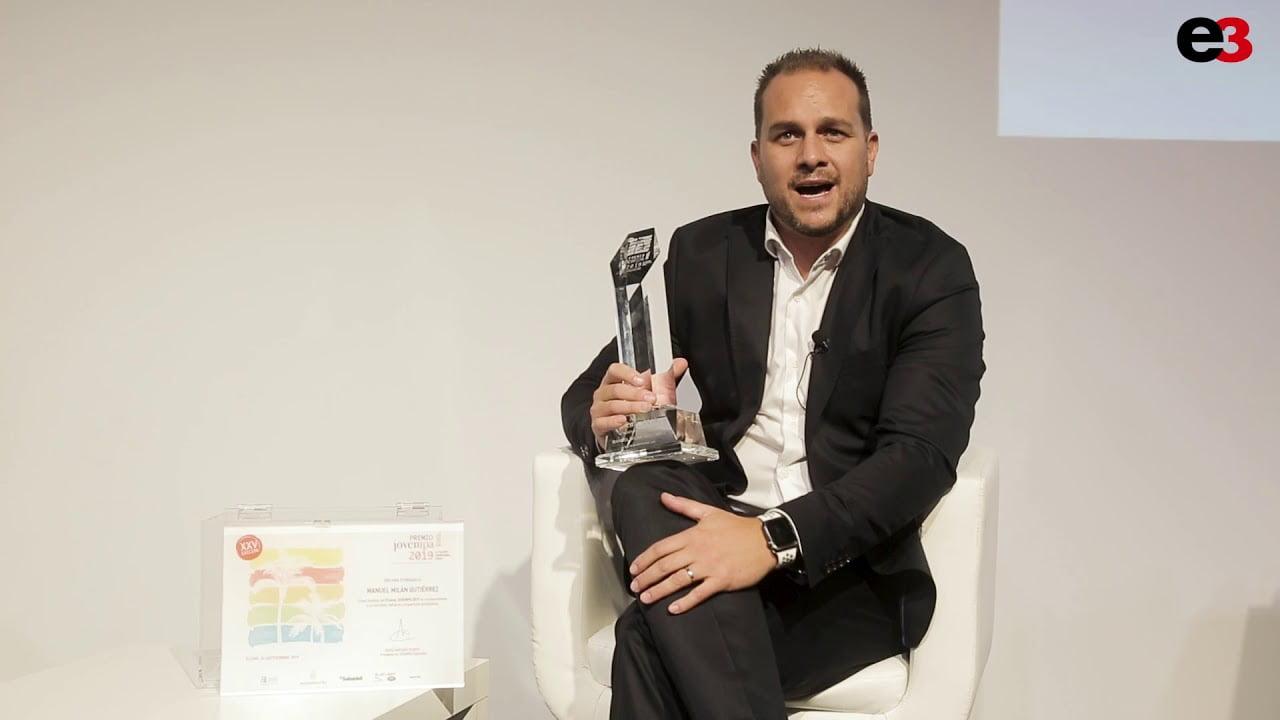 Imagen destacada Manuel Milán, de Grupo Ortholab, mejor Talento Empresarial Joven 2019