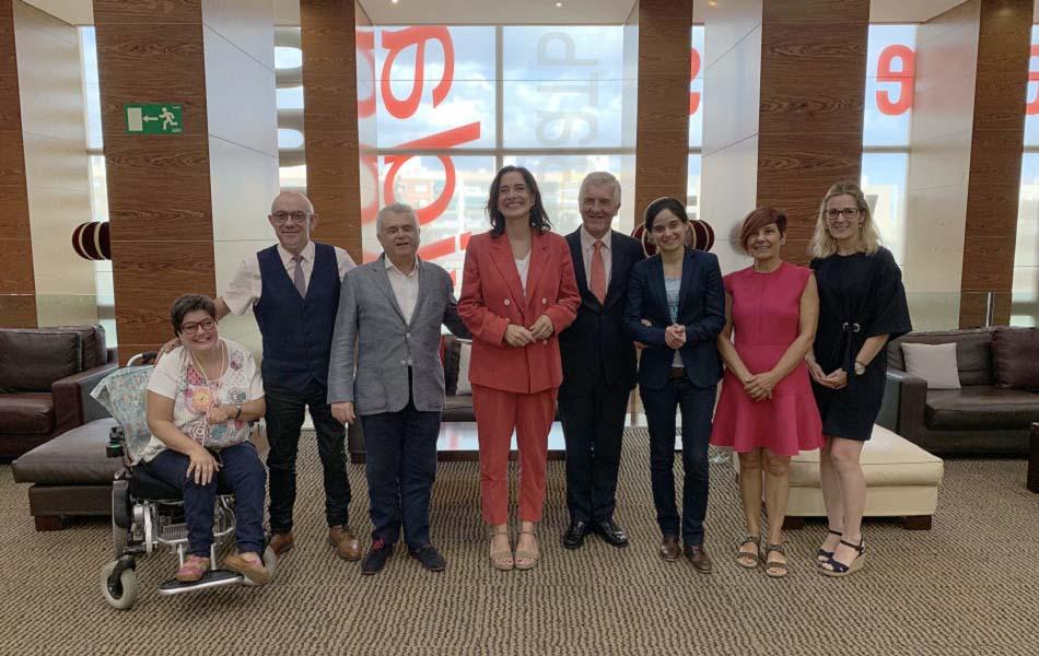Imagen destacada La UMH recibe el premio Solidario ONCE 2019 Comunidad Valenciana