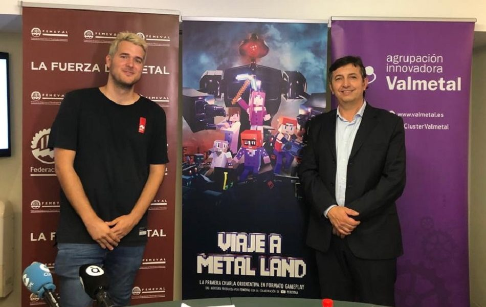 Femeval crea el primer gameplay de Minecraft para impulsar la FP del Metal