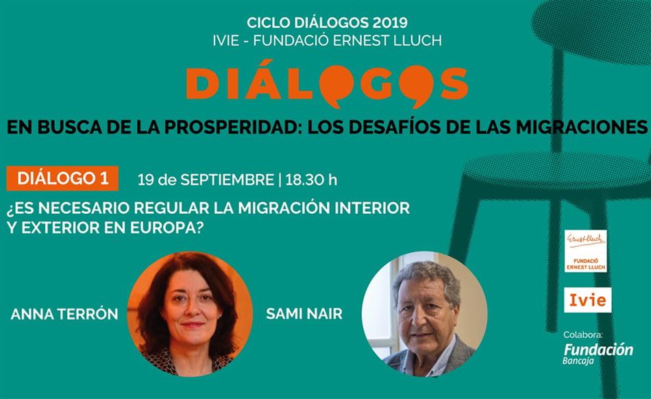 Las migraciones protagonizan los Diálogos de Fundación Ernest Lluch e Ivie