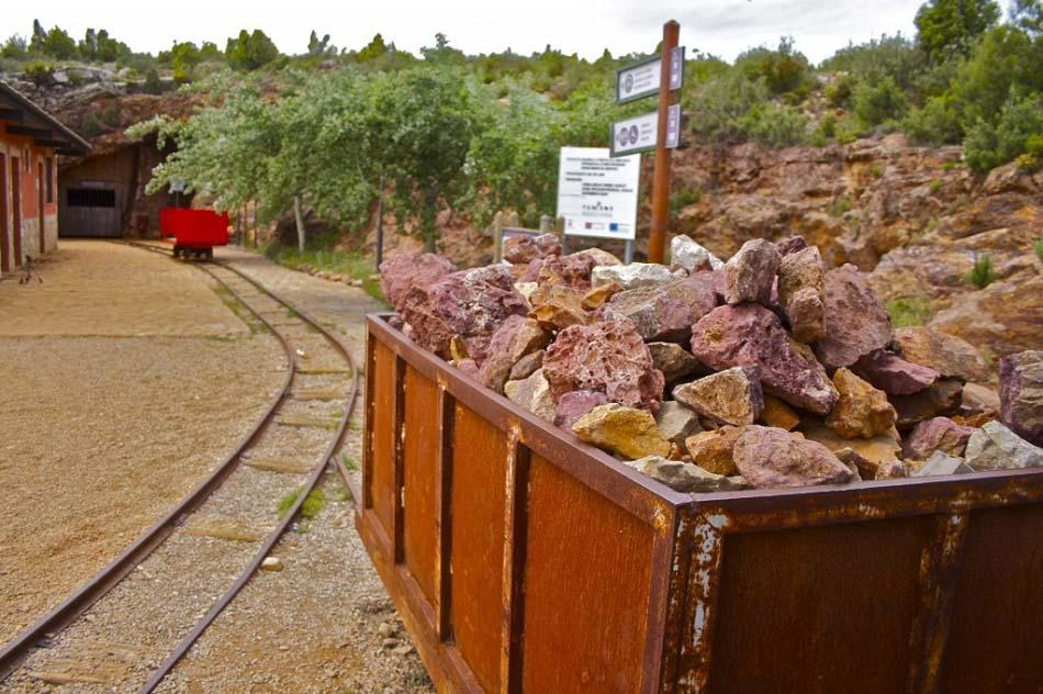 Imagen destacada El Parque minero del Maestrat, diez mil visitas por año