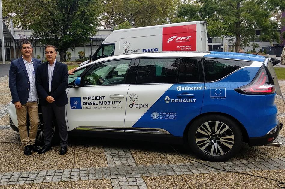 La UPV participa en el desarrollo de un motor diésel de bajo consumo y emisiones