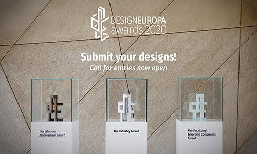 Imagen destacada La Euipo convoca la tercera edición de los Premios DesignEuropa