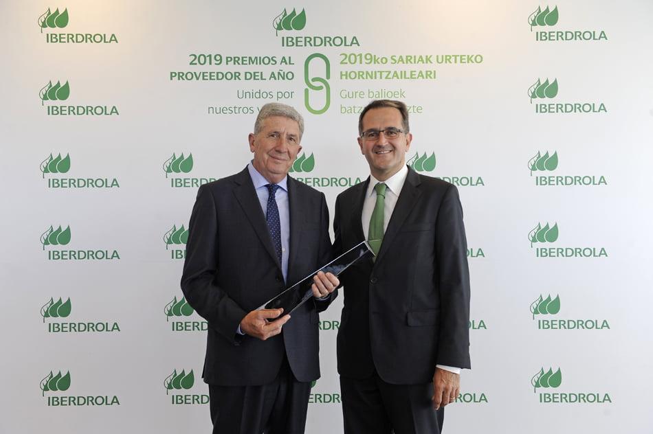 Iberdrola premia la sostenibilidad del proveedor valenciano Siel-Obremo