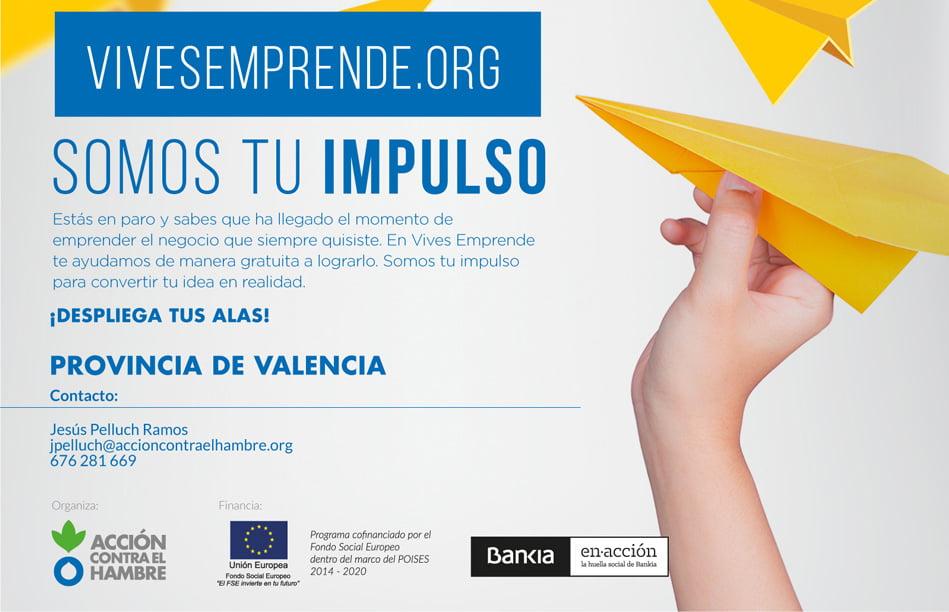 Imagen destacada Vives Emprende, el programa para desempleados de Acción contra el Hambre