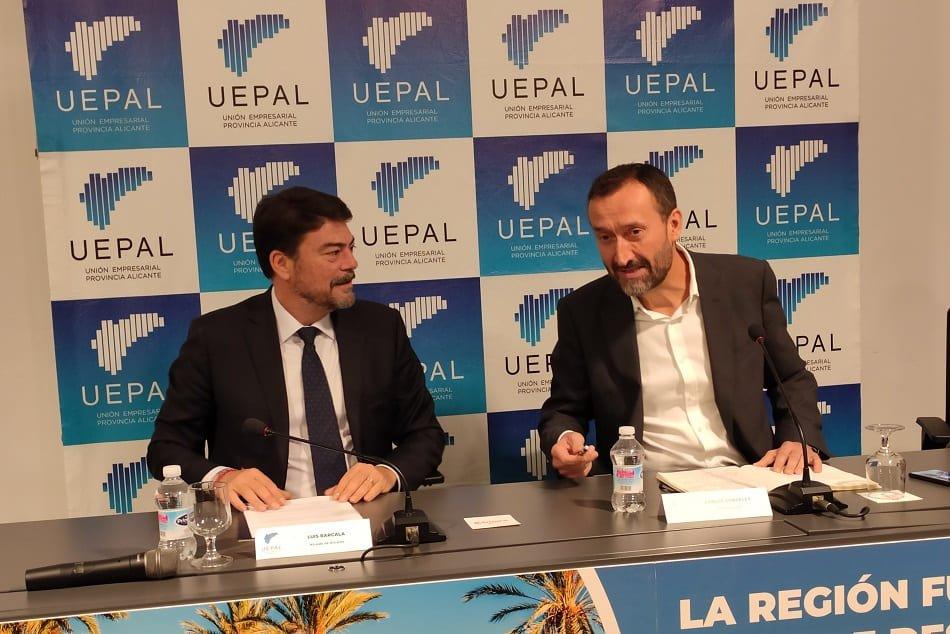 El diálogo Barcala-González propiciado por los empresarios acaba en decepción