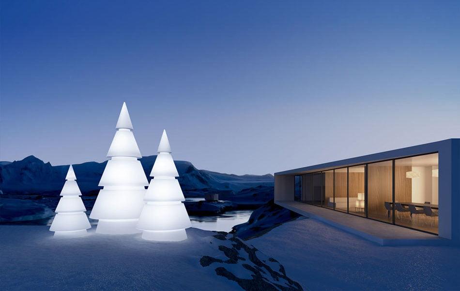 Imagen destacada Las elegantes alternativas de Vondom al árbol de Navidad