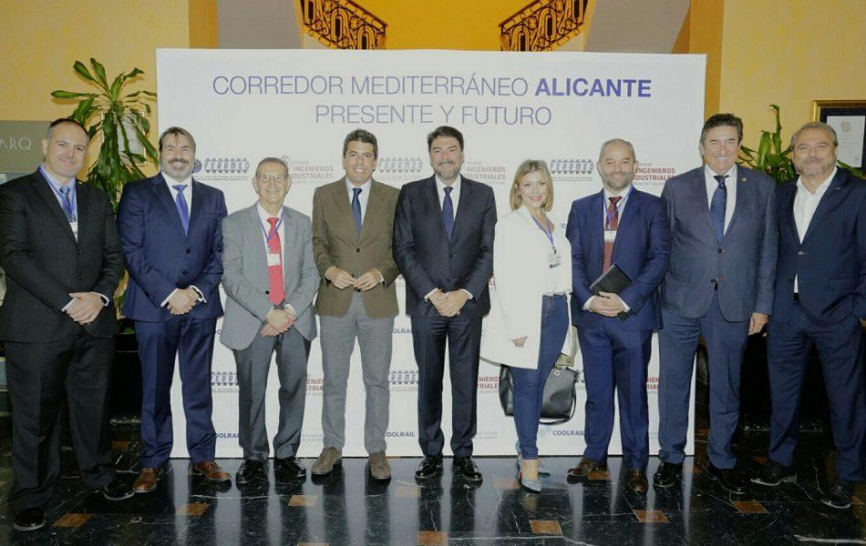 Mazón quiere otro Corredor Mediterráneo por la costa y conexión con el aeropuerto