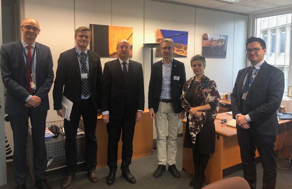 Imagen destacada Arcadi España trata en Bruselas la integración puerto-ciudad