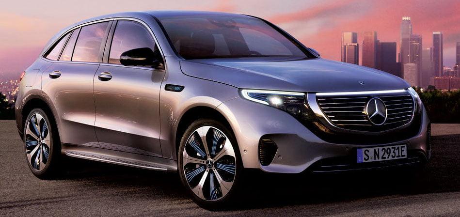 Potencia y Sofisticación destacan en el EQC, el SUV eléctrico de Mercedes