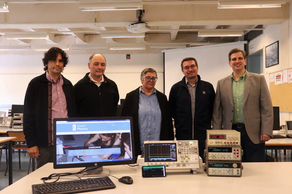 El smartphone se convierte en herramienta de experimentos científicos en la UPV