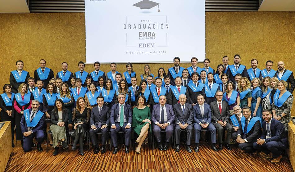 Vicente Boluda, padrino en la graduación de los programas Executive MBA de Edem