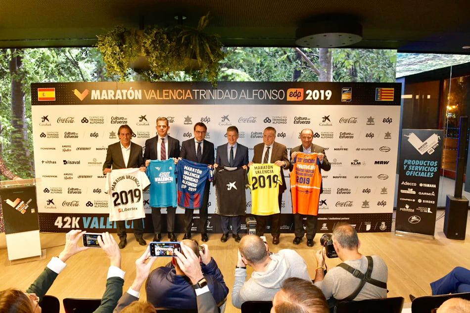 Los clubes deportivos de élite se hermanan con el Maratón València