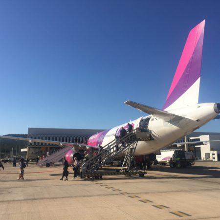 wizz air-apuesta-por crecer-paralelo-al-aeropuerto- de-castellon
