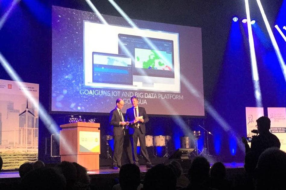 Imagen destacada GoAigua recibe un importante premio internacional en Amsterdam
