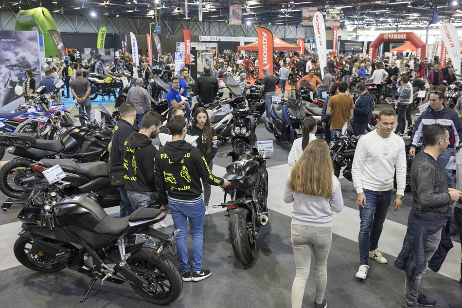 Imagen destacada Más de mil motos a la venta en la feria 2Ruedas este fin de semana
