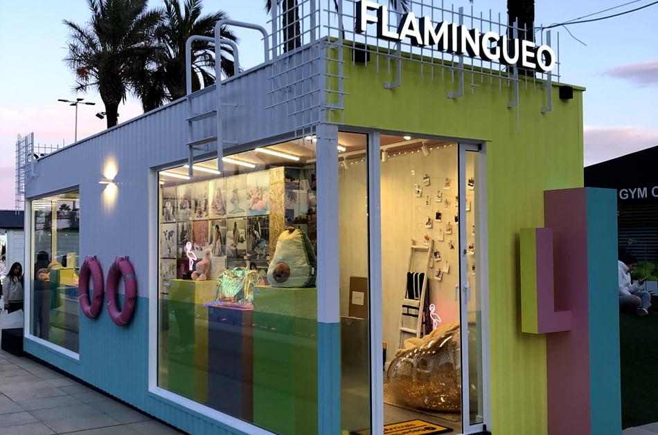 Flamingueo abre su primera tienda física en Bonaire