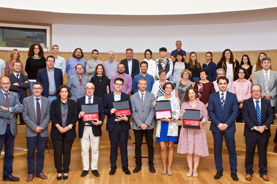 La UA entrega los Premios de Trayectoria, Innovación y Relevancia en Turismo